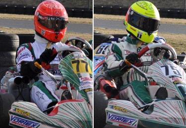 Schumacher & Schumacher su Tony Kart-Vortex