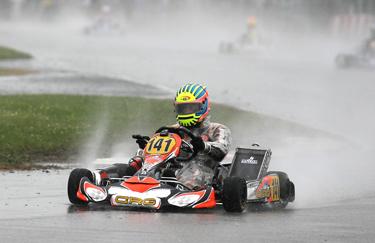 In Francia sotto il diluvio, Crg conquista il terzo posto con Lennox in KZ2
