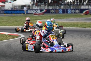 Spettacolare avvio del Campionato Italiano CSAI Karting a Sarno