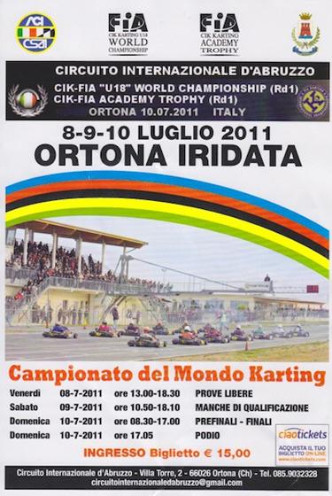 Circuito Ortona : Ortona iridata vroomkart italia