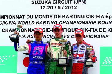 Mondiale a Suzuka, Gara 1 a Camponeschi