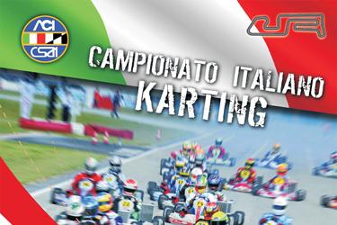 Le modalità di iscrizione alla 4. prova del Campionato Italiano CSAI Karting alla Pista 7 Laghi di Castelletto