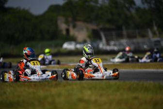 Olivieri in pista ad Adria nell'ACI Karting.