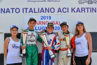 Doppio podio per Flavio Olivieri a Sarno.