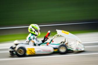 Flavio Olivieri sfortunato a Lonato nel Trofeo d'Autunno.