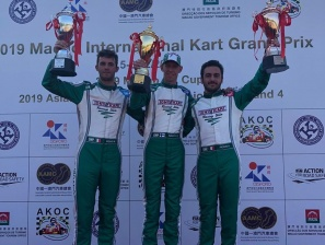 Macao GP - Tony Kart cala il poker in KZ.