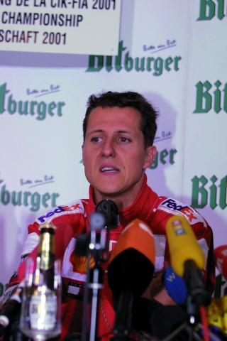 Michael Schumacher, «il karting alla base di tutto»