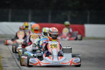 Bentornato Lorenzo. All'Europeo Ferrari di nuovo in pista dopo l'incidente.