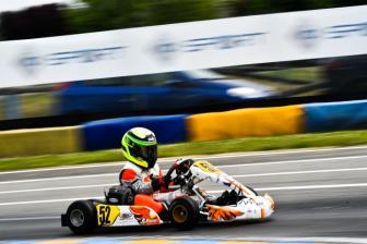Inizio complesso per Flavio Olivieri nell'Italiano ACI Karting.