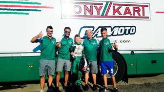 Gamoto Kart sul podio al Trofeo D'Estate.,