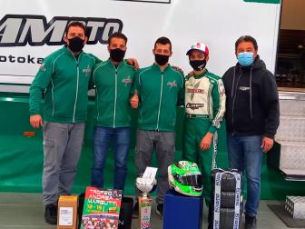 Podio per Gamoto Kart al Trofeo Margutti.