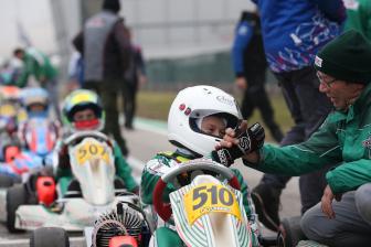 Buona la prima per Gamoto Kart all'Adria Karting Raceway.