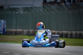 Doppio podio per Ferrari all'esordio in X30 Senior.