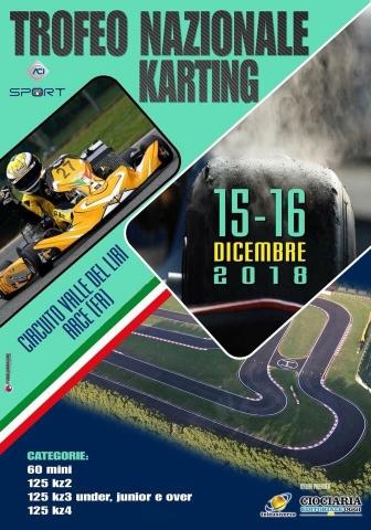 Dal 14 al 16 dicembre il Trofeo Nazionale ACI Karting ad Arce