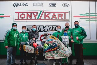 Gamoto a podio nella WSK Open Cup.