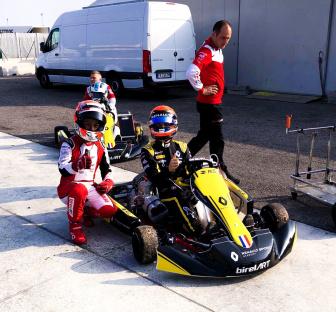 Fewtrell e Lundgaard in pista con Birel ART e Renault.