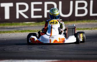 Bertini sfiora la top15 nella WSK Super Master Series a Sarno.