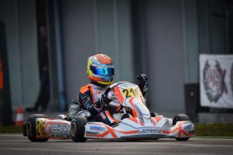 Lorenzo Ferrari in cerca di conferme nella prima tappa della WSK Super Master Series