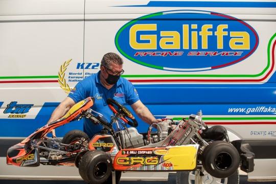 Motori kart firmati Galiffa