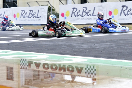 Test collettivi a Muro Leccese, intervengono Nico Rosberg e Jean Alesi. Si va al debutto della Wsk Master Series 2013