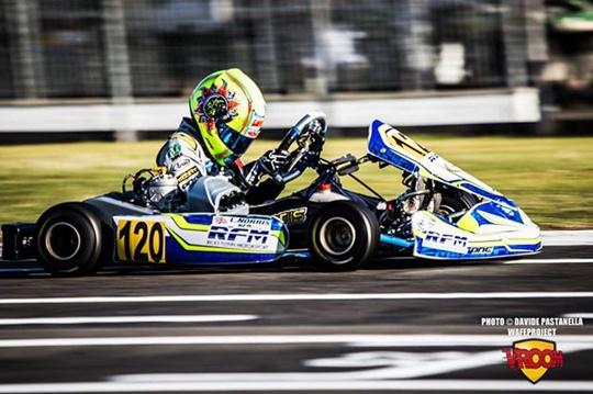 Norris e De Francesco agguantano la pole della prefinale europea