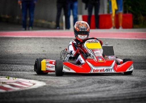 Simone Cunati, tra pista e simulatore di guida
