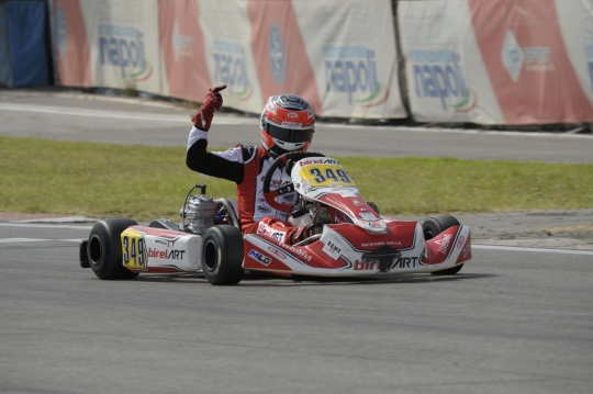 Cristian Bertuca trionfa a Sarno