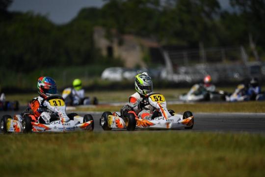 Olivieri in pista ad Adria nell'ACI Karting