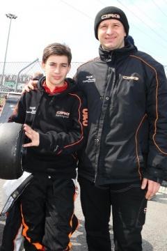 CRG conferma Enzo Trulli (OKJ) e Gabriel Bortoleto (OK)