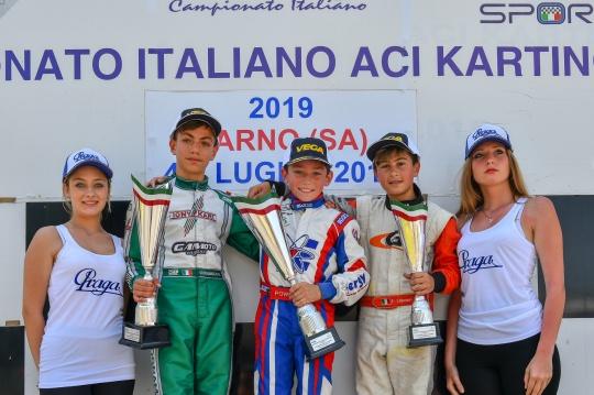 Doppio podio per Flavio Olivieri a Sarno