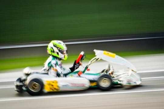 Flavio Olivieri sfortunato a Lonato nel Trofeo d'Autunno