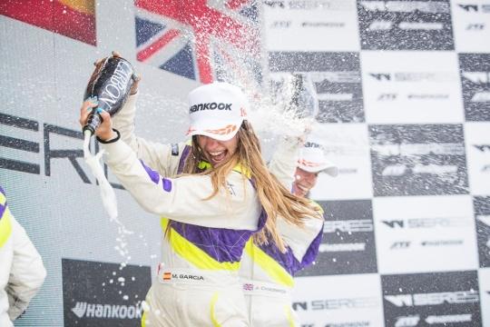 Marta Garcia, dal karting alla vittoria in W Series!