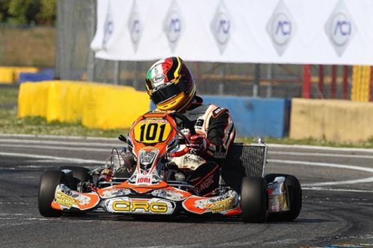 CRG, nel Campionato Italiano Longhi in KZ2 inizia con un podio
