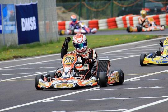 Spettacolo CRG nell'apertura del campionato tedesco a Wackerdorf
