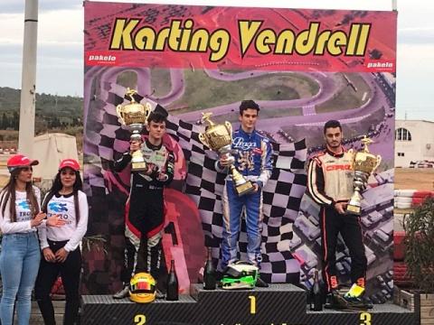 Il Kartodromo Vendrell omaggia i vincitori della 17a Copa de Campeones