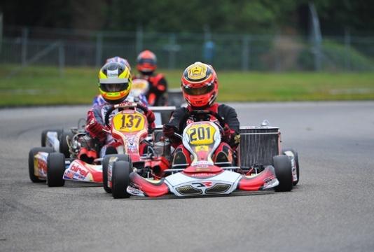 Antonsen campione europeo KZ2 su Johansson