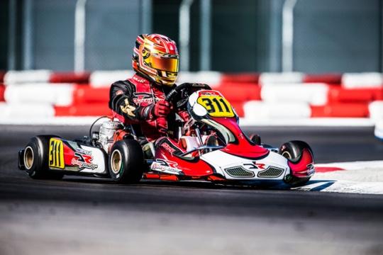 DR Racing sul podio alla prima del WKS