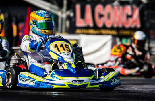 Gara memorabile di Sebastian Fernandez al mondiale a La Conca