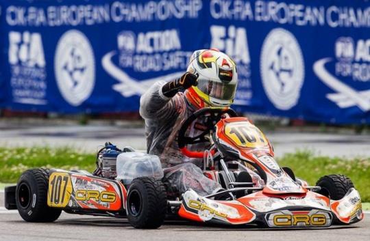 Schiacciante vittoria CRG  nel campionato europeo di Adria