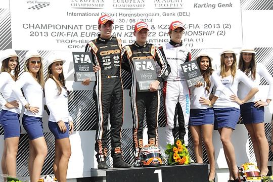 Europeo CIK-FIA KZ e KZ2 a Verstappen (CRG-TM) e a Antonsen (DR-TM)