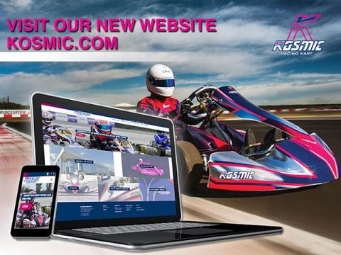 Online il nuovo sito della Kosmic Kart