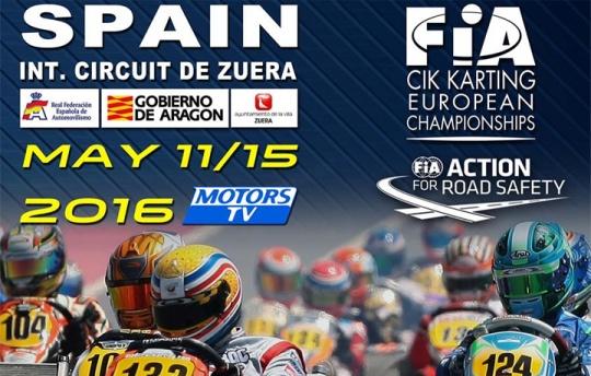 Secondo round per l'Europeo CIK-FIA