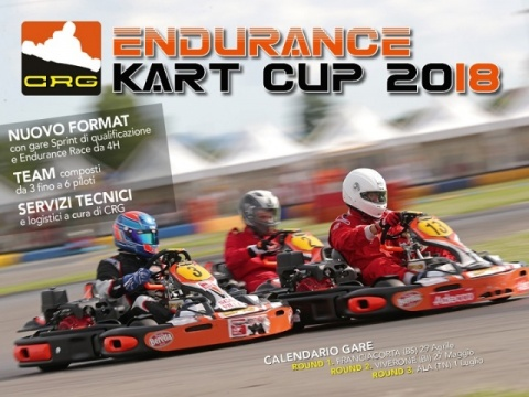 Nuovo format per l'Endurance Kart Cup 2018