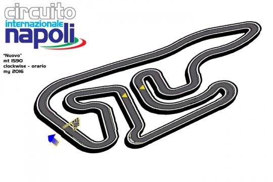 Il Circuito Internazionale Napoli a Sarno cambia immagine iniziando con il nuovo disegno del tracciato