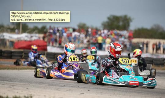 Il Campionato Italiano Karting si chiude a Val Vibrata