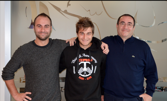 Mirko Torsellini nuovo pilota CRG,  debutto al Trofeo Delle Industrie