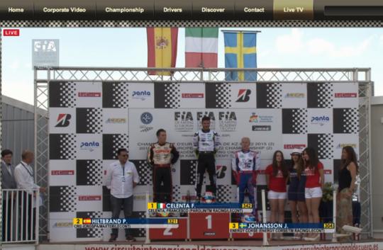 Celenta domina la finale KZ2 ma viene penalizzato