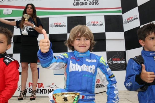 Le prime classifiche del Challenge Italia ACI Karting