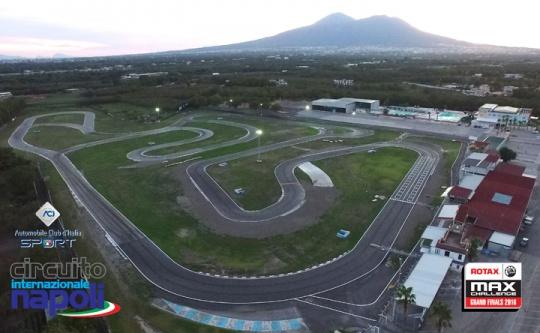 A Sarno conto alla rovescia per le Rotax MAX Grand Finals 2016
