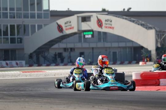 232 piloti a Adria per la terza prova del Campionato Italiano ACI Karting